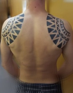Airbrush Tattoo Tribal
