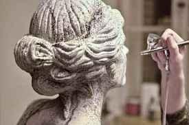 Airbrush Bodypainting Skulptur 1