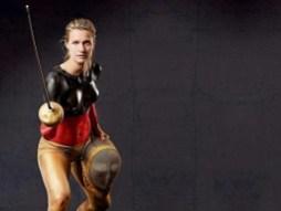 Bodypainting Fotoshooting mit Britta Heidemann