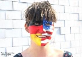 Facepainting Flagge