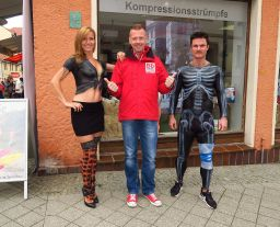 Medifit Promotion Bodypainting