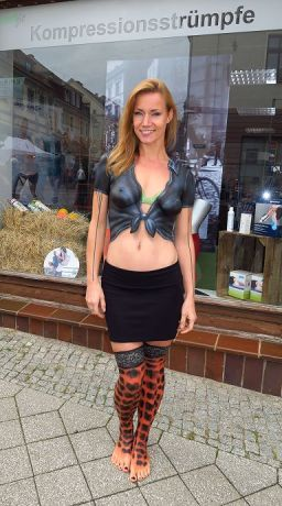 Medifit Promotion Bodypainting 3