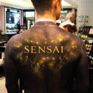 Sensai Promotion Bodypainting