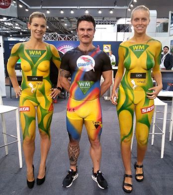 WM Promotion Bodypainting (1)