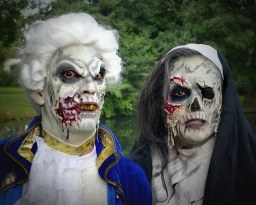 Halloween Zombies Facepainting