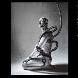 Galileo Robot Bodypainting Fotoshooting