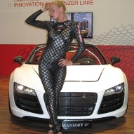 Messe Bodypainting Carbon Promotion 2