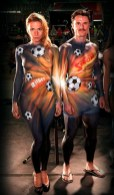 Bodypainting Fussball