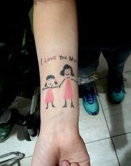 Airbrush Tattoo Muttertag KDW