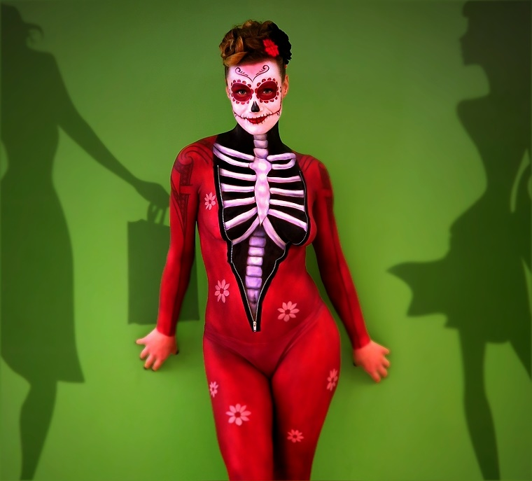 Halloween Bodypainting