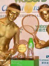 Gold Tennis close bpc