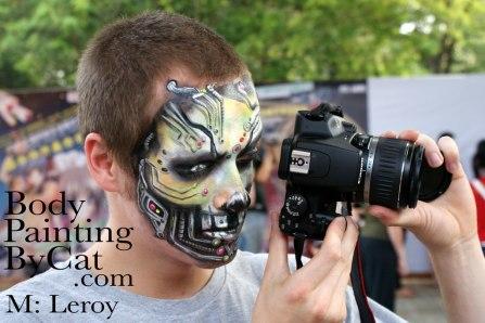 Leroid facepaint camera shanghai bpc