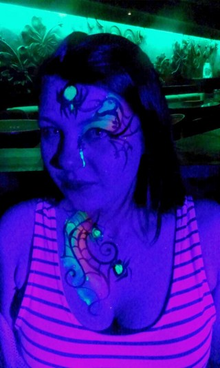 UV spidery face