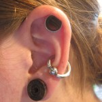 Why do my ear tunnels smell?