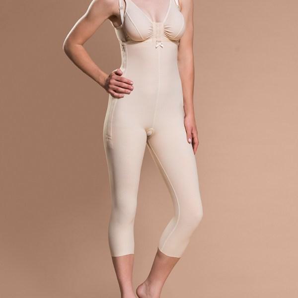 Marena Capri-Length Bodysuit with Suspenders (FBM)