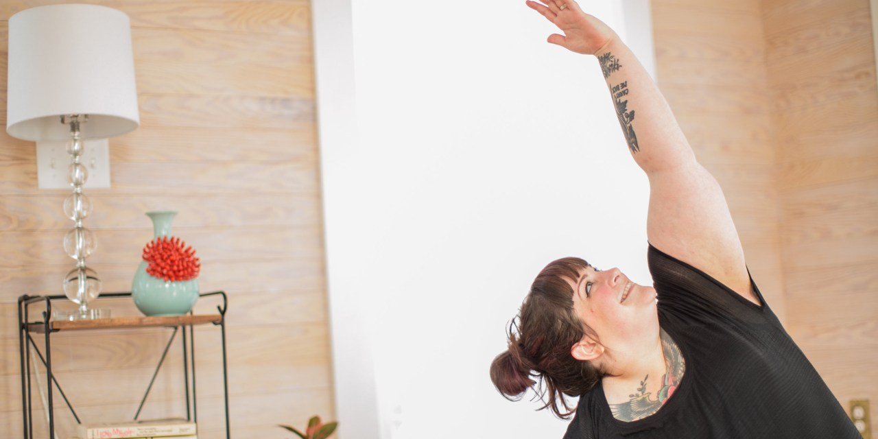 Yoga at home: an easy, 5-minute breathing inquiry
