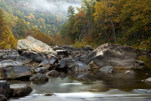 Rockbridge county is the site of amazing natural spaces, including Goshen Pass, where we'll go swimming