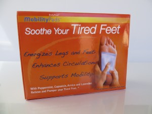 mobility foot patch box