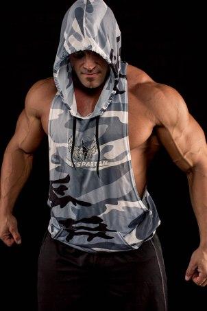sleeveless hoodie | Body Spartan