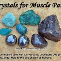 Crystals for Muscle Pain