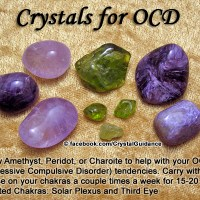 Crystals for OCD