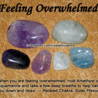 Crystals for Feeling Overwhelmed
