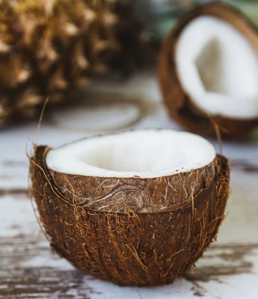Kokosnüsse sind nicht nur unheimlich lecker, sondern auch unheimlich gesund. Und: Man kann Speck aus ihnen machen, yay!