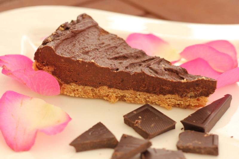 Lust auf vegane Tarte au Chocolat? Hier gibt es ein schnelles Rezept.