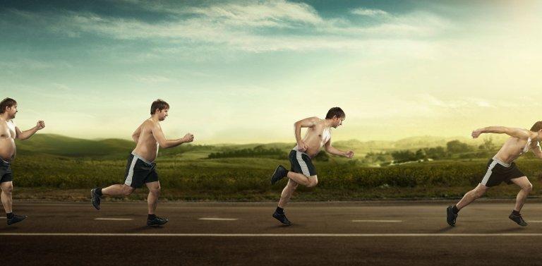 Бег как средство похудения