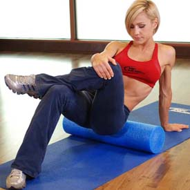 hip pain reduction stretch exercise