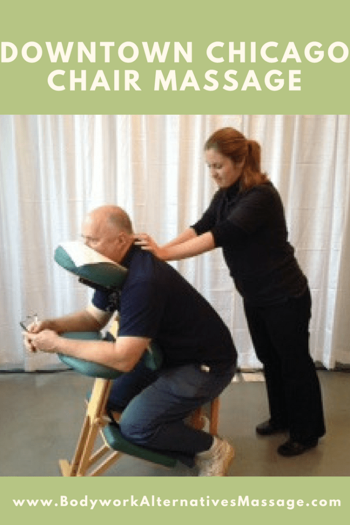 Downtown Chicago Chair Massage