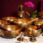 A grouping of Tibetan Singing Bowls