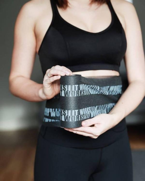 Fixier Band für den It Works Body Wrap