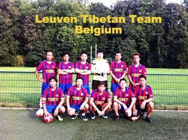 Euro Tibetan Cup Leuven 2015 team