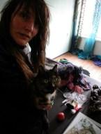Werkplaats Sodis Vita met kat