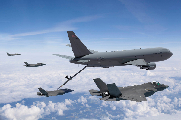Image result for KC-46 tankers, photos