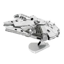 MetalEarth Star Wars Millennium Falcon Model Kit - http://bit.ly/1WDNFAO
