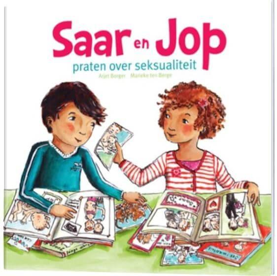 Saar en Jop praten over seksualiteit Arjet Borger