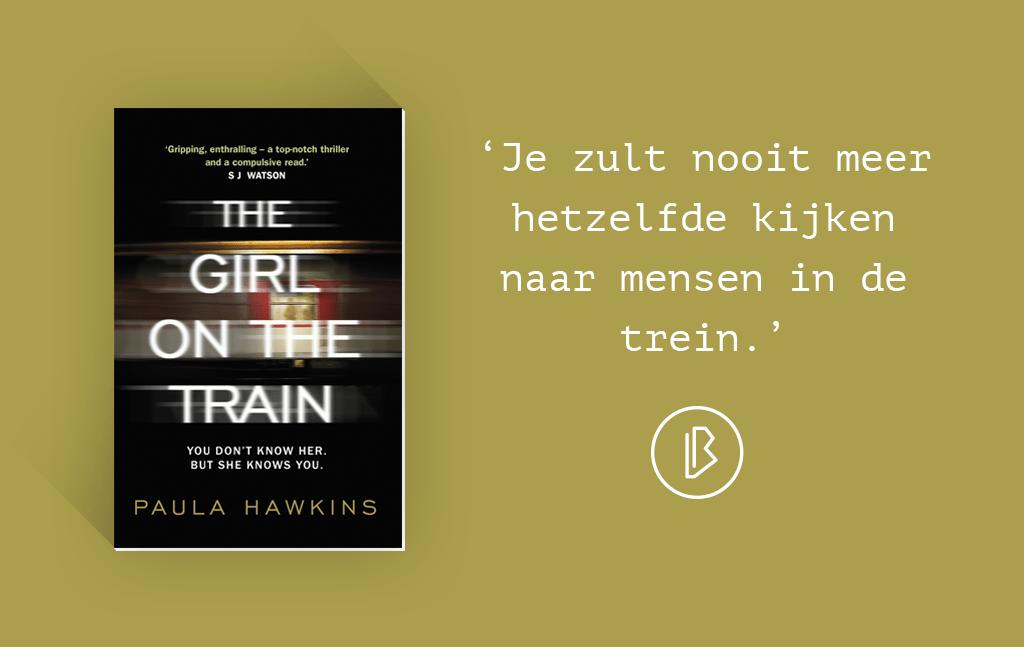 Recensie: Paula Hawkins – The Girl on the Train