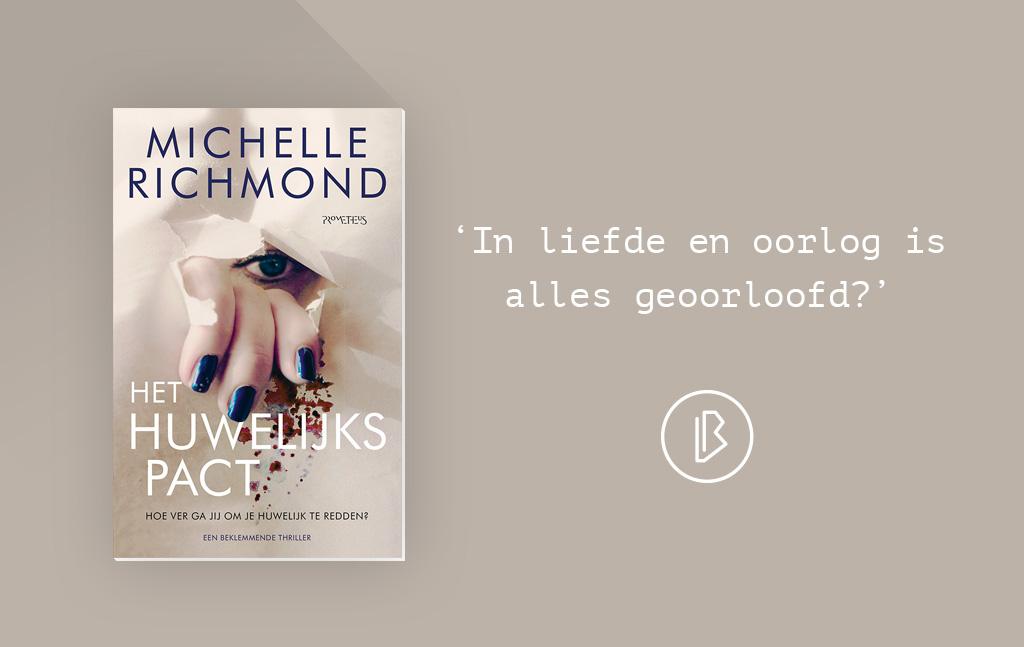 Recensie: Michelle Richmond - Het huwelijkspact