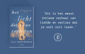 Recensie: Jill Santopolo - Het licht dat we verloren
