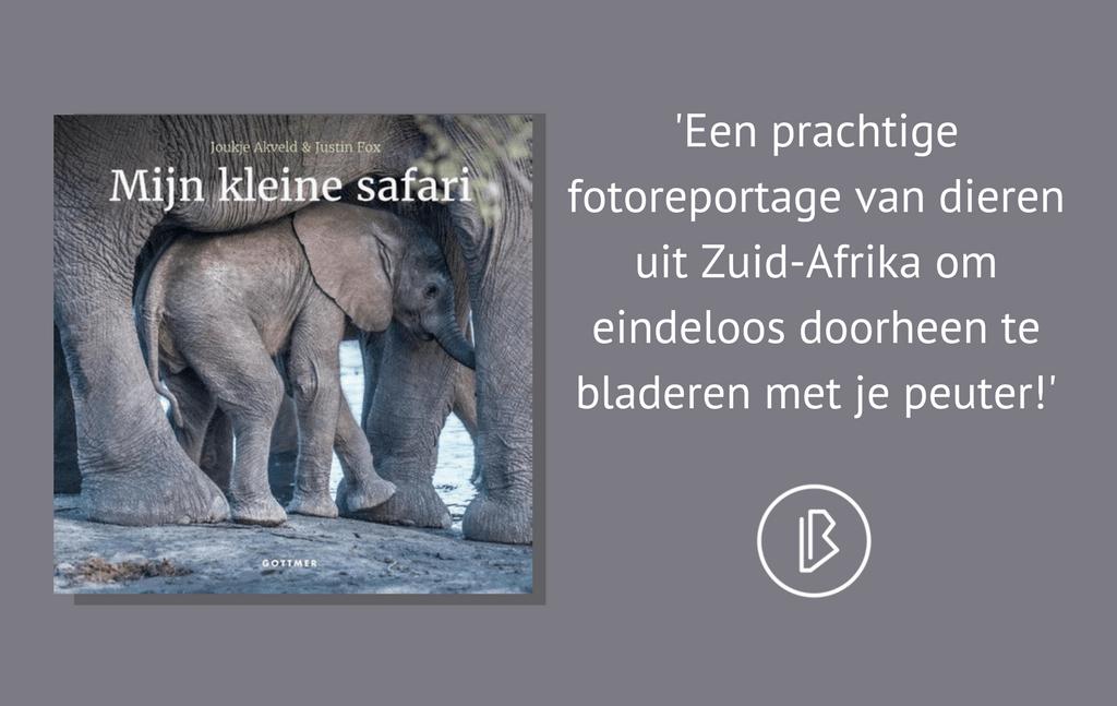 Recensie: Joukje Akveld & Justin Fox – Mijn kleine safari