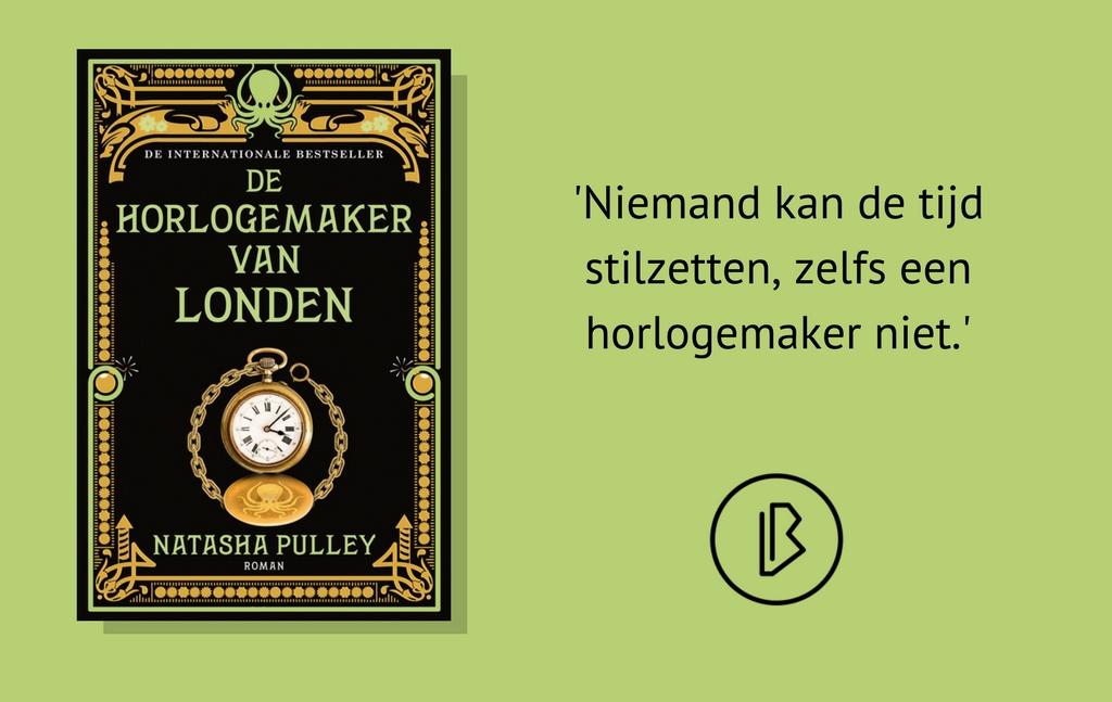 Recensie: Natasha Pulley – De horlogemaker van Londen