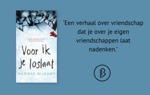 Recensie: Marieke Nijkamp – Voor ik je loslaat