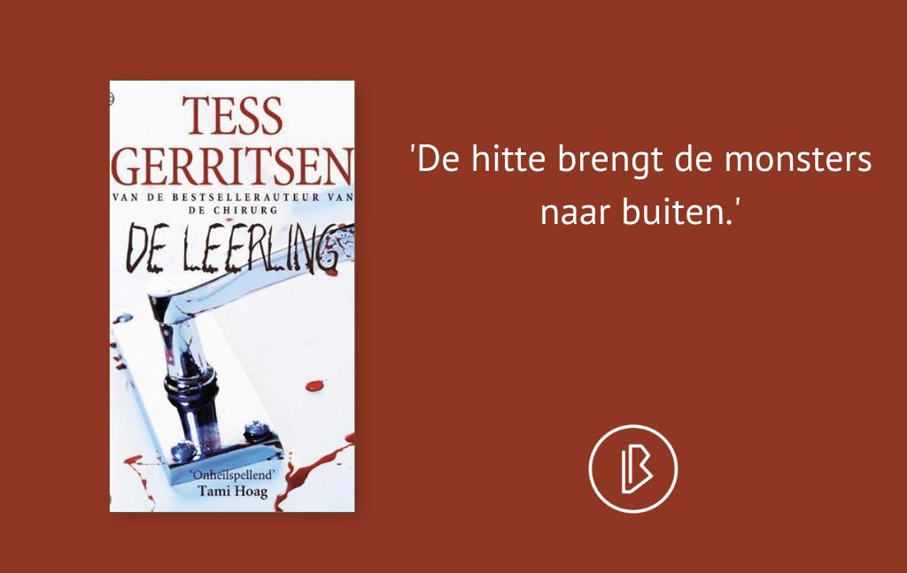 Recensie: Tess Gerritsen – De Leerling