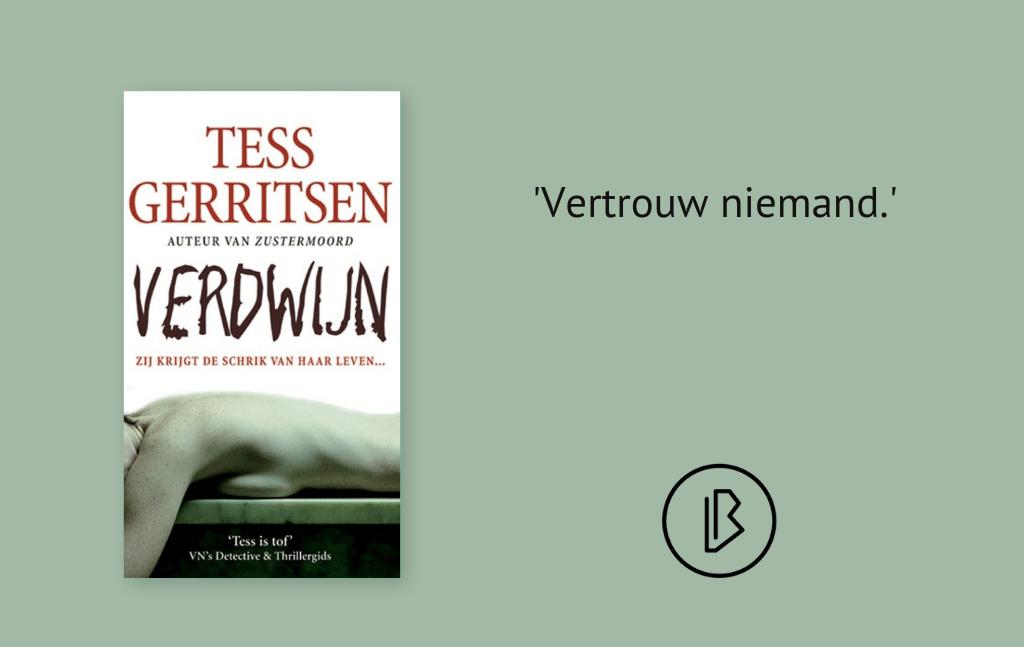 Recensie: Tess Gerritsen – Verdwijn