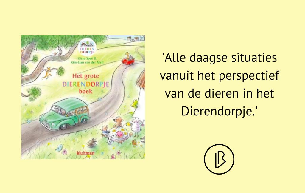 Recensie: Kim-Lian van der Meij – Het grote dierendorpje boek