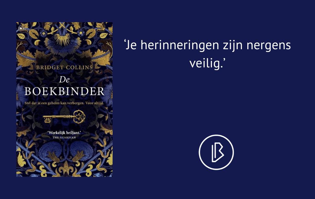 Recensie: Bridget Collins– De boekbinder