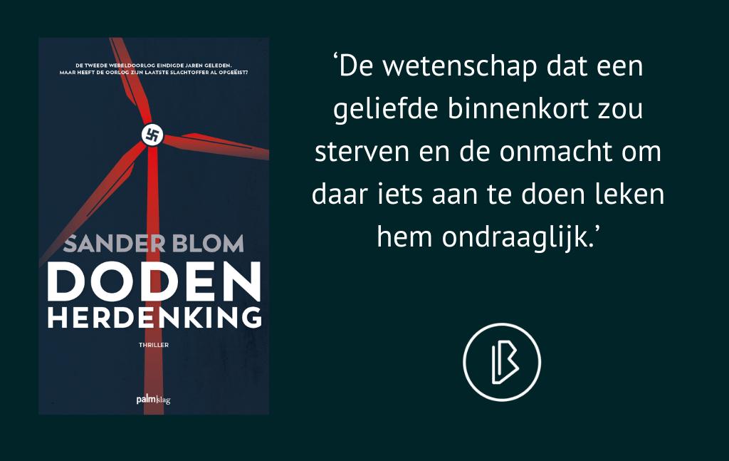 Recensie: Sander Blom – Dodenherdenking