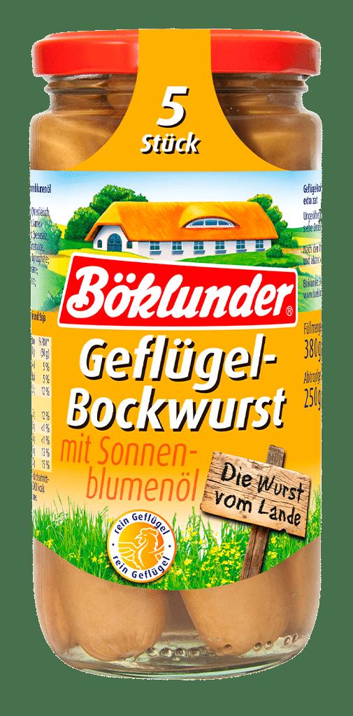 Böklunder Geflügel Bockwurst